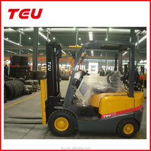 lpg/gas/petrol forklift with container mast
