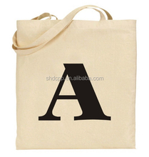 Designer top sell blank cotton tote bag