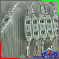 High Power SAMSUNG LED Module of SMD5630 IP65 Waterproof LED module with 120 Degree Beam Angle Lens