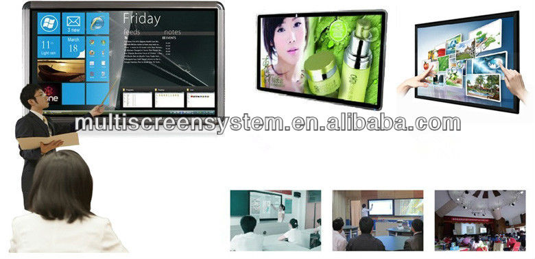 2013 upgrade product:65 inch Touch All in One PC+3D TV