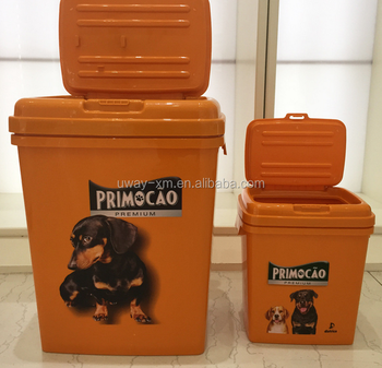 Hot selling air tight 15kgs&3kgs pet food container