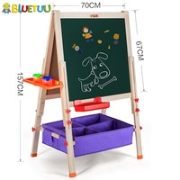 Smart children learning toys kid with wood easel