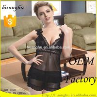 Hot selling breathable gauze lingerie