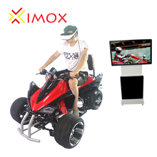 Warranty 12 CE Month Customized 9D VR Motorcycle Car Racing Machine