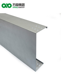 Corrosion resistance outdoor fiber optic cable tray galvanized cable trunking