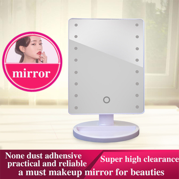 New touch screen sensing brightness adjustment Makeup LED mirror