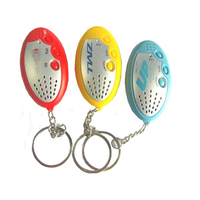 Hot LED keychain with voice recorder (10s)
