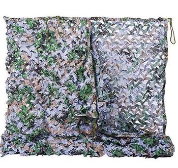 Woodland Camo Netting Camouflage Net For Camping Military Hunting Shooting Multicolor Sunscreen Nets