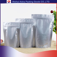 Coffee Foil Bag Custom Printed or Not Printed Stand Up Pouch With Zipper Aluminum Bags For Tea