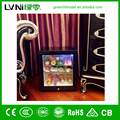 Guangzhou LVNI black no compressor glass display cabinet