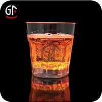 New Year Gifts Advertising Clear Bright Square Whiskey Glass