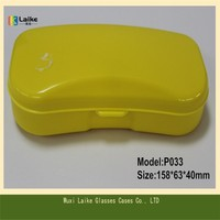 Factory Supply Eco Friendly Eyewear Case Plastic Eyeglasses Cases Multiple Colors Available