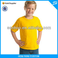 summer blank kid t-shirt for ad