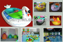 Kiddie Inflatable Electric Bumper Boat for Kids