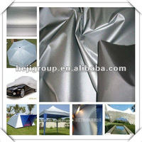 2015new sliver Fabric which is waterproof, economical and very strong for making Tarpaulins and Vehicle covers.