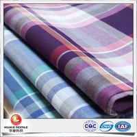 yarn dyed cotton voile fabric for shirting wholesale