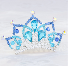 2015 Hot sale!!! Factory wholesale crystal tiaras with baby for party