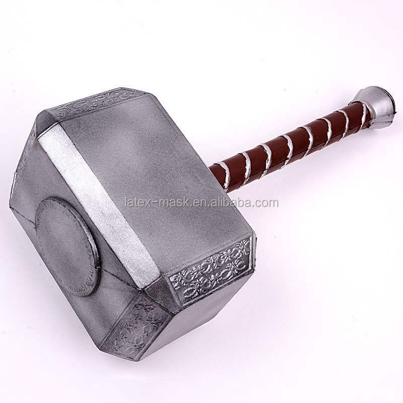 China Manufacturer PU Foam Toy Hammer LARP WeaponS From Movie