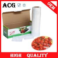 Fruits and vegetables food grade plastic film roll for food