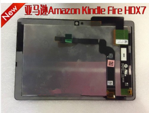 Alibaba China wholesale assembly For Amazon Kindle fire HDX7 LCD Replacement