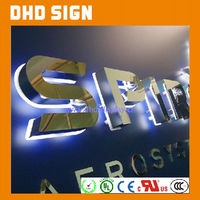 backlit letter storefront sign Led