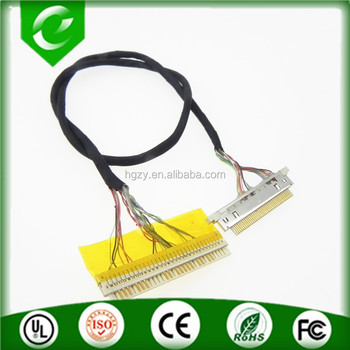 Customized FI-X30H to 88441 laptop header lvds twisted pair cable