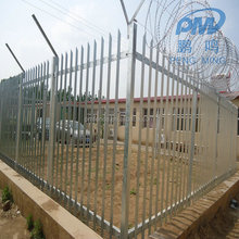 Factory New Design Decorative Garden Steel Palisade Euro Fence for sale