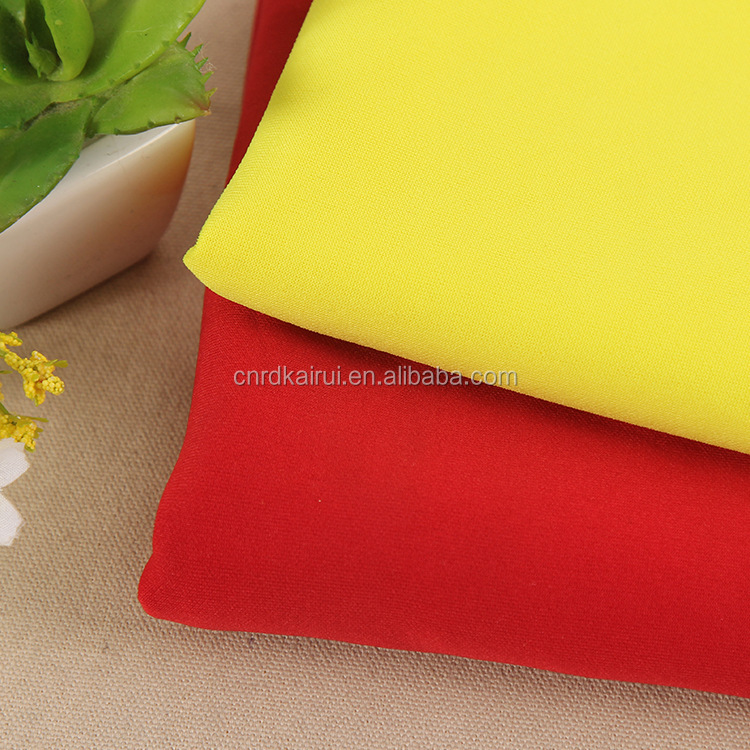 Fabrics supplier Wholesale Yarn dyed polyester viscose spandex satin lycra fabric for classic suit