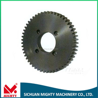 High quality brass spur gear China Chengdu oem machine custom made small precision brass watch gears for sale