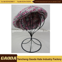 special offer new fashioned wool custom thickening winter knit hats