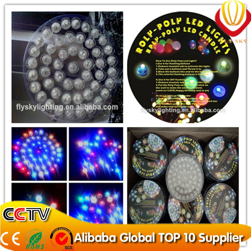 Mini LED lights for crafts and balloon best for decoration shining in the dark night