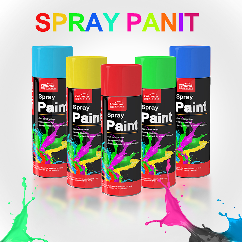 art fluorescent glitter oil car spray paints interior road marking graffiti alkyd resin paint