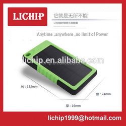 portable 2600mah usb power bank mini solar charger
