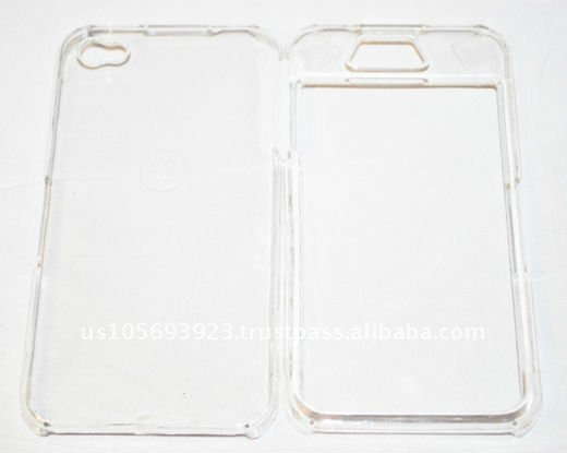 Crystal Transparent Case for Apple Iphone 4