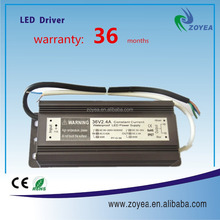 IP67 waterproof 80w led switching power supply 2400ma led driver