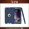 Heavy Duty Protector Back Cover For iPad air 2 PC + silicone 3 IN 1 case