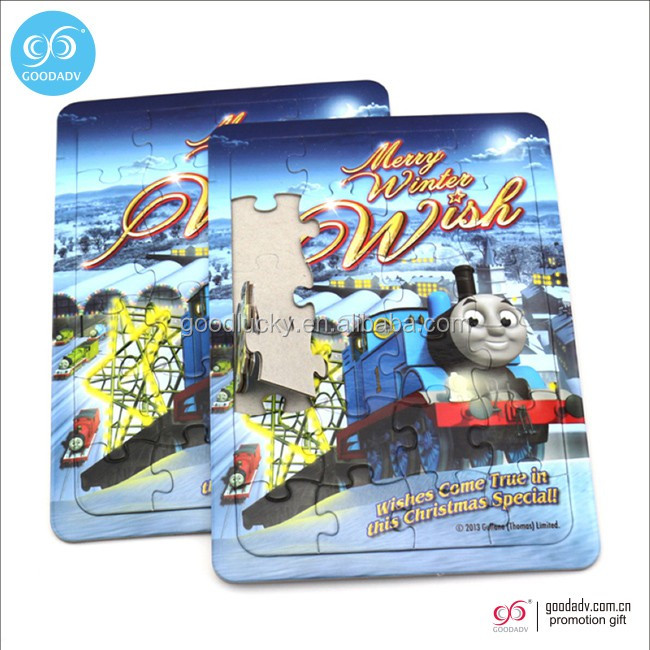 Guangzhou wholesale custom jigsaw puzzles cardboard puzzle cheap paper puzzle for kids