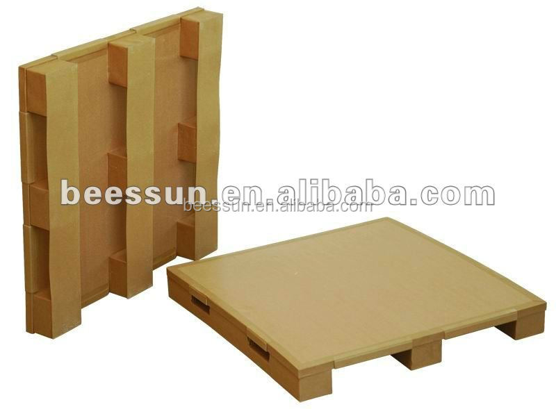 BEECORE recycled honeycomb paper pallets for loading goods