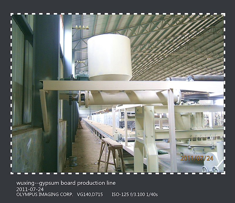capacity 97.96kw---gesso board making machine