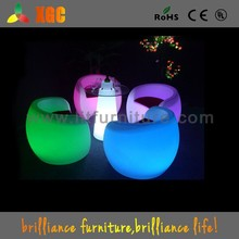 china wholesale led furniture led glass bar table,led light up bar round table with glass