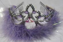 Wholesale plastic tiaras promotional child princess crown and cheap princess crown