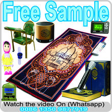 Pattern/size/color can be customized 100% pp muslim style prayer electronic mat