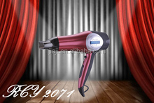 high temperature hair dryer with super silent DC motor