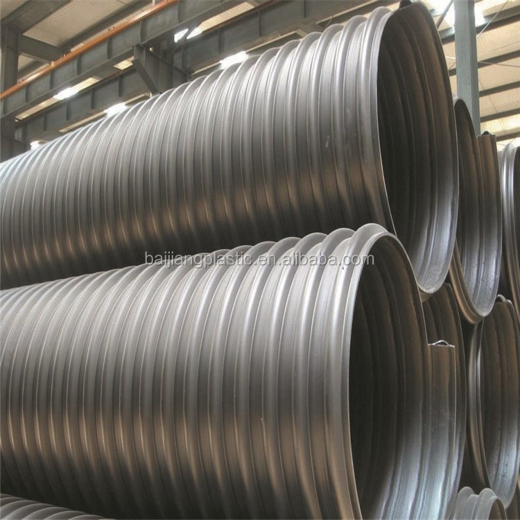 Cheap Waste Water Metal HDPE Spirally Corrugated Pipe 1000mm