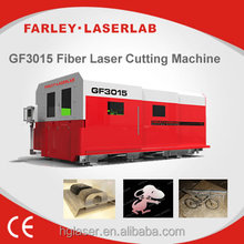 CNC thin metal laser cut machine adopting Laser Source IPG and AC servo motor
