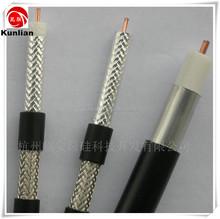 RG59+2 power siamese coaxial cable for CCTV camera system /coaxial cable for am/fm radio