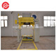 Inverted vertical wire drawing machine for nut/bolt/screw making