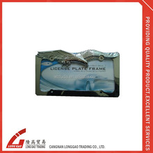 auto zinc alloy number plate holder license
