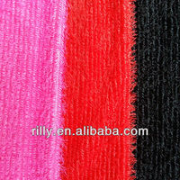 100% polyester plush fabric for garment, toy, home textile