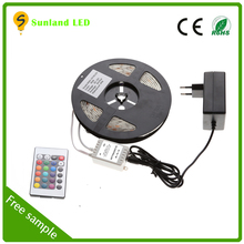 factory price 12v led flexible strip rgb waterproof cheap led light 5050 led strip lights for cars
